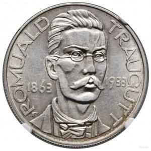 10 złotych, 1933, Warszawa; Romuald Traugutt – 70. rocz...