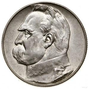 5 złotych. 1936, Warszawa; Józef Piłsudski; Kop. 2961, ...