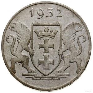 5 guldenów, 1932, Berlin; Żuraw portowy; AKS 8, CNG 522...