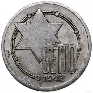 10 marek, 1943, Łódź; wybite na grubym krążku; Jaeger L...