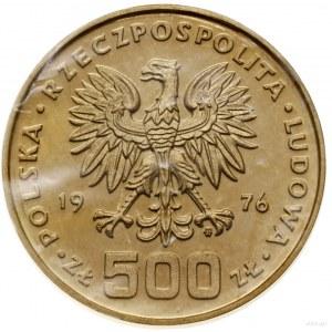Zestaw: 2 x 500 złotych, 1976, Warszawa; Kazimierz Puła...