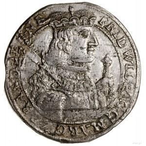 Ort, 1656, Królewiec; odmiana z nominałem 18 - gr i lit...