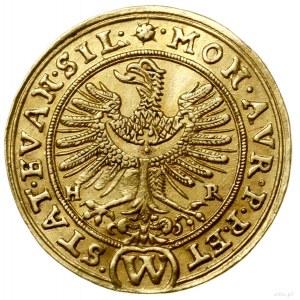 Dukat, 1635, Wrocław; Aw: Orzeł dolnośląski, po bokach ...