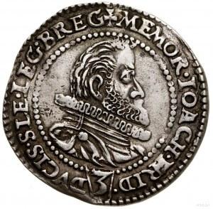 3 krajcary pośmiertne, 1602, Złoty Stok; Aw: Popiersie ...