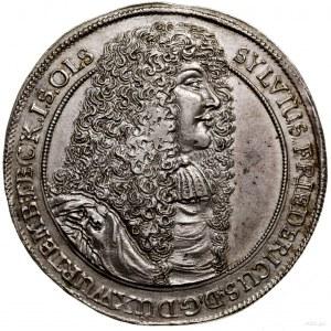 Talar, 1674, Oleśnica; Aw: Popiersie władcy prawo, SYLV...