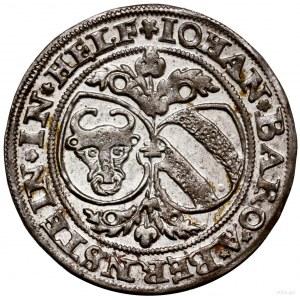 1/8 talara (grosz), 1541, Kłodzko; Aw: Tarcze herbowe (...