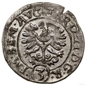 3 krajcary, 1622, Głogów; I - H (inicjały mincmistrza g...
