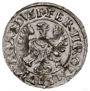 3 krajcary kiperowe, 1622, Strzegom; na rewersie monogr...