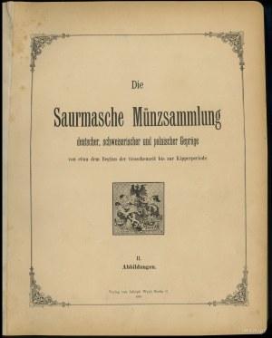 """Adolf Weyl """"Die Saurmasche Münzsammlung deutscher, schw..."""