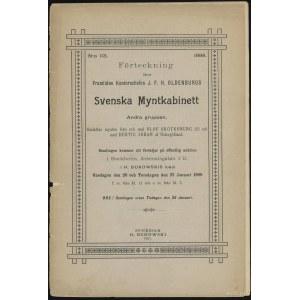 """Katalog aukcyjny H. Bukowski """"Svenska Mynthkabinett 113..."""