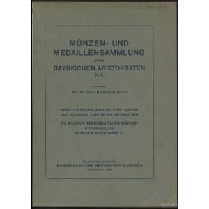 """Katalog aukcyjny Dr. Eugen Merzbacher Nachf. """"Münzen- u..."""