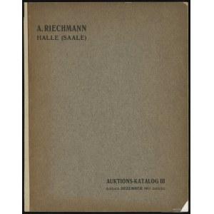 "Katalog aukcyjny Albert Riechmann ""Sammlung D. Siedler-..."
