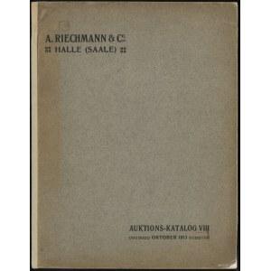 "Katalog aukcyjny A. Riechmann & Co. ""Universalsammlung ..."