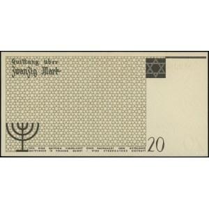 20 marek, 15.05.1940; numeracja 235035, papier bez znak...