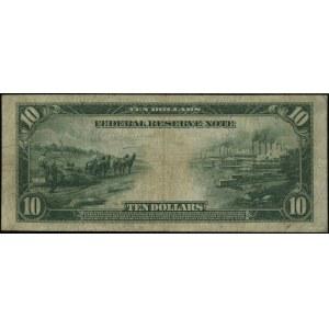 Chicago; 10 dolarów, 1914; numeracja G1589031A, podpisy...