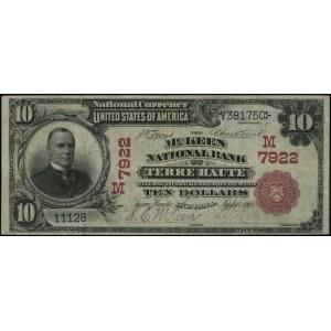 Indiana, Terre Haute, The McKeen National Bank; 10 dola...