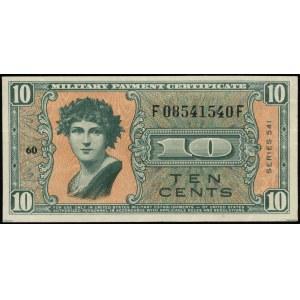 Kompletny zestaw banknotów zastępczych serii 541 z lat ...