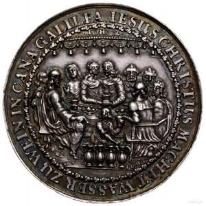 Medal na pamiątkę ślubu i cudu w Kanie Galilejskiej, II...