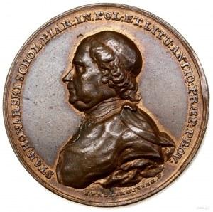Medal pamiątkowy, 1771, autorstwa Jana Filipa Holzhaeus...