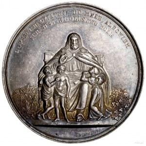 Medal na pamiątkę chrztu, ok. 1850, projektu Józefa Her...