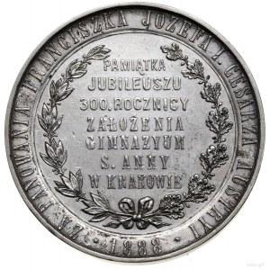 Medal na pamiątkę 300. rocznicy założenia gimnazjum św....