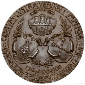 Medal na pamiątkę 500-lecia Uniwersytetu Jagiellońskieg...