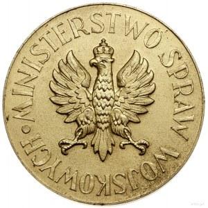Złoty Medal za Konia Remontowego, 1933, projektu Stefan...