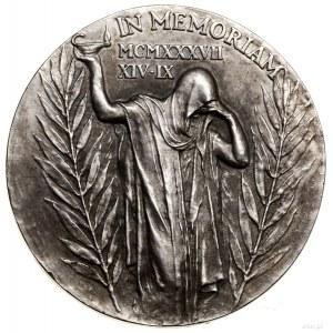 Medal na pamiątkę śmierci Tomáša Garrigue Masaryka (185...