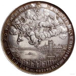Medal satyryczny wybity z okazji śmierci namiestnika Ho...