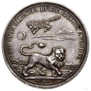 Medal na pamiątkę szczęśliwego powrotu króla do Szwecji...