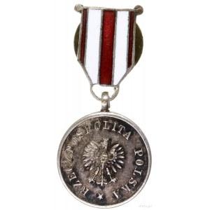 Medal za Ratowanie Ginących (z miniaturą), od 1928, War...