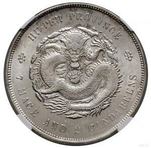 1 dolar, bez daty (1895–1907); KM Y#127.1; srebro; mone...