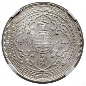 Trade dolar, 1902 B, Bombaj; KM T5; srebro; moneta w pu...