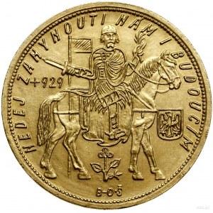 5 dukatów, 1929, Kremnica; Fr. 5, KM 13; złoto próby 98...