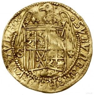 doble excelente (dwudukat), bez daty (ok. 1497), Granad...