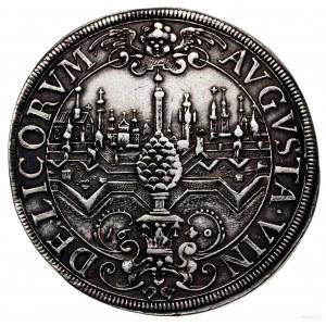 Talar, 1640, Augsburg; Aw: Popiersie władcy w prawo, IM...
