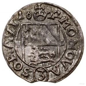 3 krajcary kiperowe, 1622 FS, Żary; Aw: Popiersie władc...