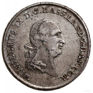 1/2 talara, 1789 F, Kassel; Hoffmeister 2654, Schön 163...