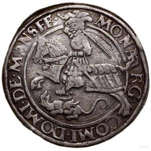Talar, 1541, Eisleben; Aw: Św. Jerzy na koniu w lewo, w...
