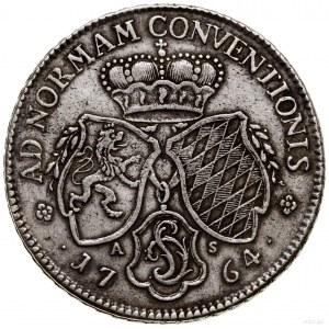 Talar, 1764, Mannheim; Aw: Głowa władcy w prawo, CAR TH...