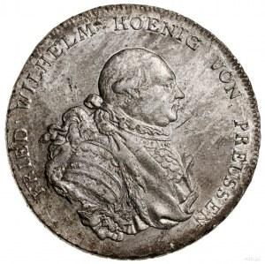 Talar, 1787 A, Berlin; Aw: Popiersie władcy w prawo, FR...