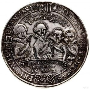 Talar, 1612, Saalfeld; Aw: Półpostacie czterech z braci...