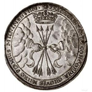 Talar pośmiertny, 1662, Weimar; wybity dla upamiętnieni...