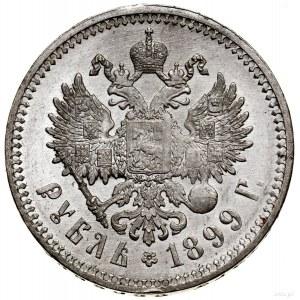 Rubel, 1899 (Ф•З), Petersburg; Bitkin 49, Kazakov 162, ...