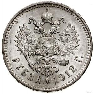 Rubel, 1912 (Э•Б), Petersburg; Bitkin 66, Kazakov 416, ...