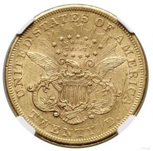 20 dolarów, 1866 S, San Francisco; typ Liberty Head, wi...