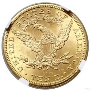 10 dolarów, 1901 S, San Francisco; typ Liberty Head, wi...