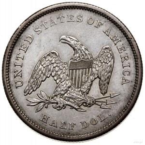 1/2 dolara, 1841, Filadelfia; typ Liberty Seated; KM 68...