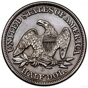 1/2 dolara, 1858 O, Nowy Orlean; typ Liberty Seated - n...