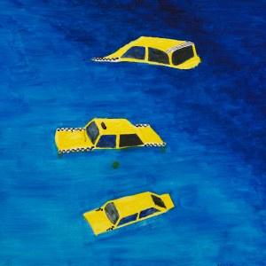 Patryk Lutomski, Żółte zatopione taksówki, 2020